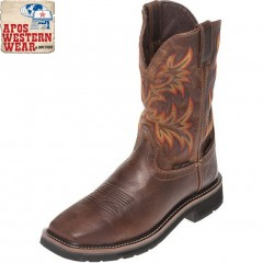Tony Lama - RUGGED TAN STAMPEDE