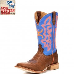 MEN'S TWISTED X- COGNAC BLUE/NEON HOOEY